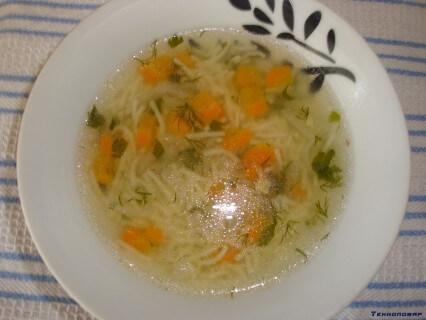 какой суп можно приготовить из курицы