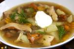 Суп с сушеными белыми грибами: рецепт и полезные свойства