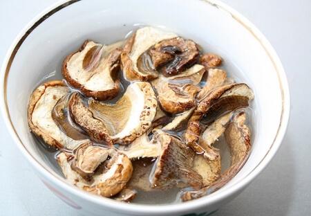 суп с сушеными белыми грибами рецепт