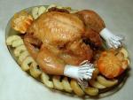 Курица в рукаве с яблоками, как готовится и в чем её польза