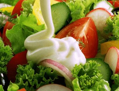 Соус для салата готов