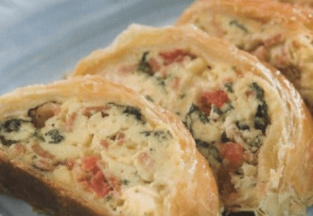 Начинка из овощей и сыра