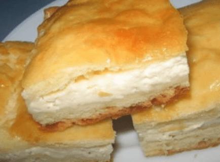 Творожная начинка в пироге
