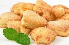Печенье на сметане отличается нежной консистенцией