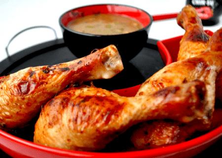 Маринованные куриные голени