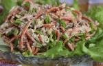 Салат с печенью и морковью по-корейски: оригинальные и вкусные рецепты