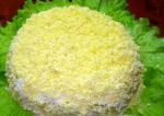 Ингредиенты салата мимоза и способы приготовления