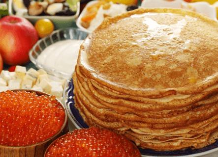 Блины - любимое традиционное блюдо