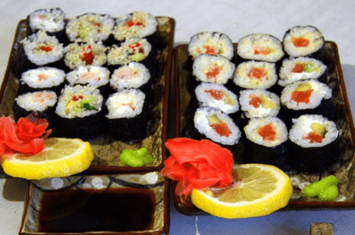 Суши Четыре вкуса