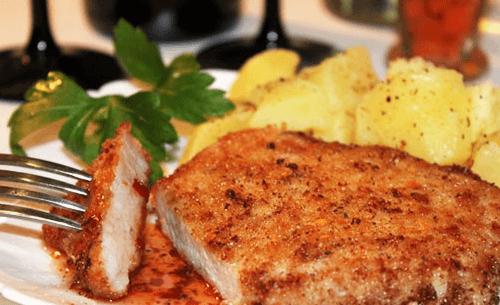 как пожарить сочные отбивные из свинины на сковороде