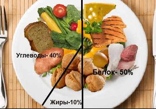 Жиры, белки и углеводы