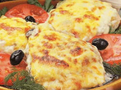 Котлеты под сыром