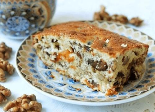 Сухофрукты и орехи - начинка для манника