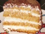 Вкусный крем для бисквита из простых продуктов