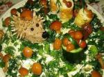 Классический салат сказочная поляна и его вариации