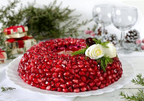 Красивый салатик к Новому году