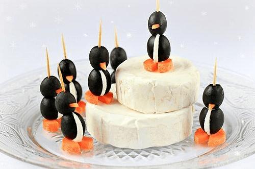 Сливочный сыр с пингвинами