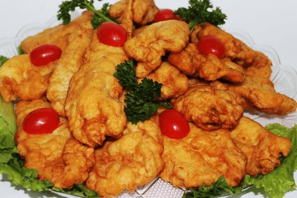 Сырный кляр для курицы