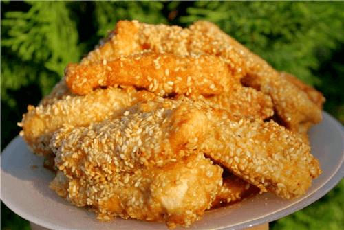Рыбное филе в панировке