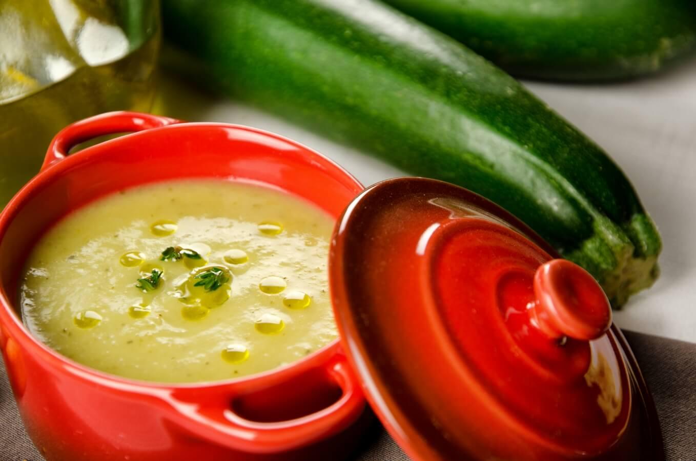 Суп-пюре из цукини рецепт