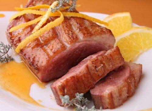 Филе свинины в мультиварке