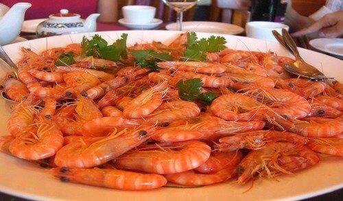 Выбрать креветки для салата Русалочка
