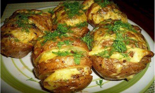 Готовим картофель в фольге
