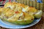 Блюдо из кабачков в духовке быстрого и вкусного приготовления
