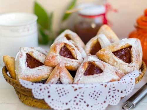 Печенье треугольники с вареньем