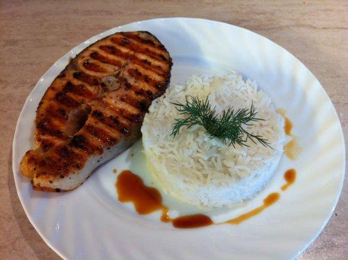 Рыба с рисом