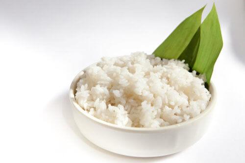 Рис в салатах
