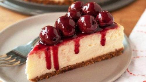 Классический творожно-вишневый торт