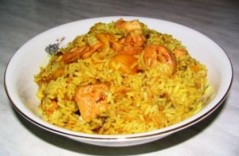 блюда из курицы и риса